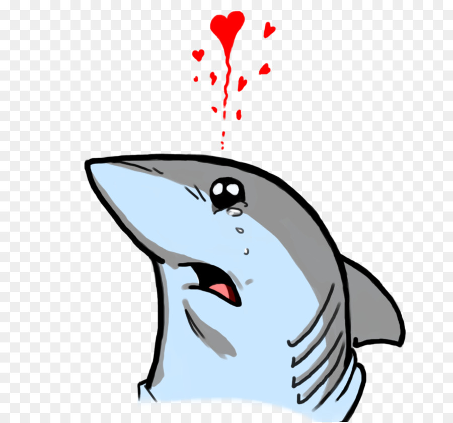 Tiburones de tierra de Dibujo Ternura Gran tiburón blanco - BEBÉ DE ...