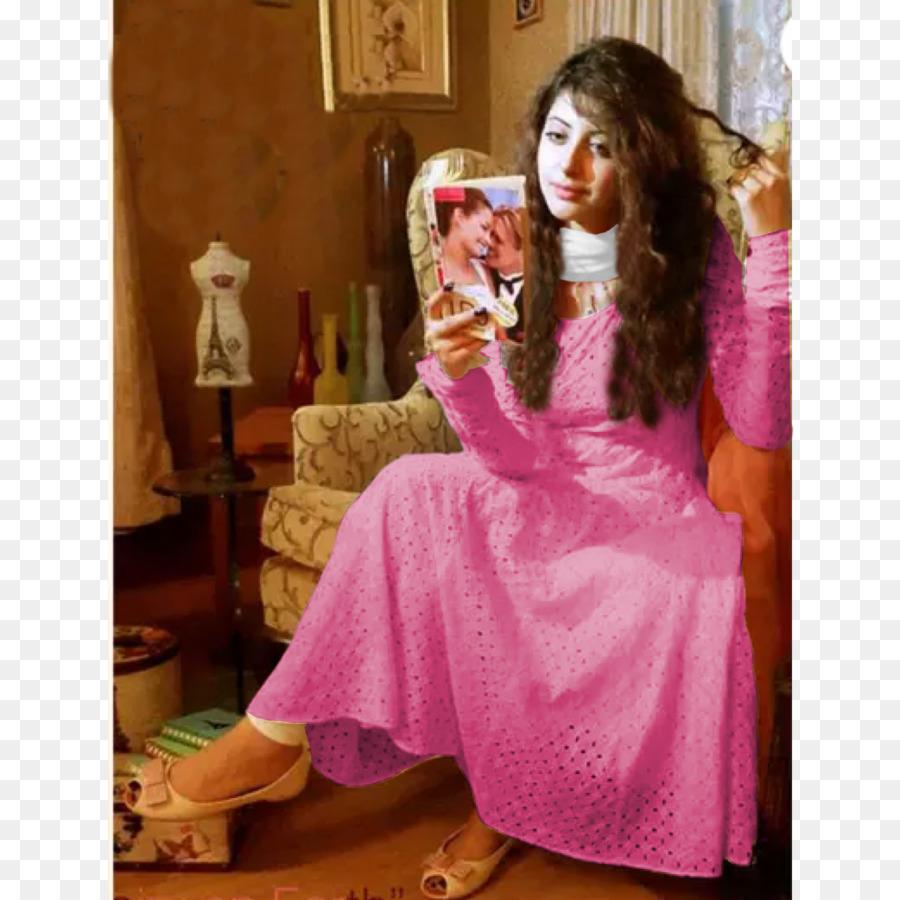 Vestido de Vestido de Dupatta Shalwar kameez Traje - rosa luz ...