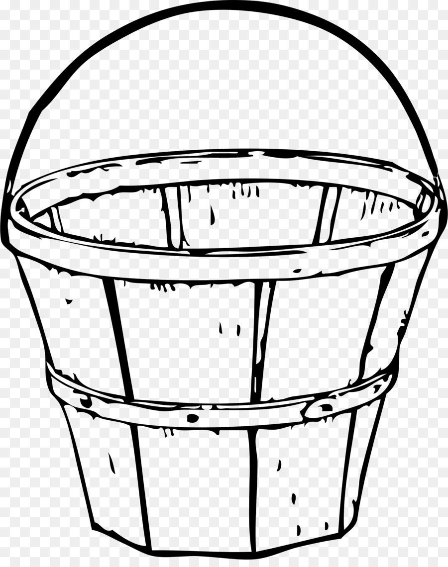 Apple Pencil Easter Basket Drawing Clip Art Bucket