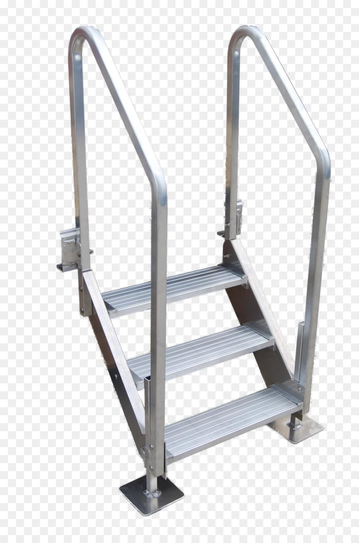 Genial Voyager Dock Steel   Stair