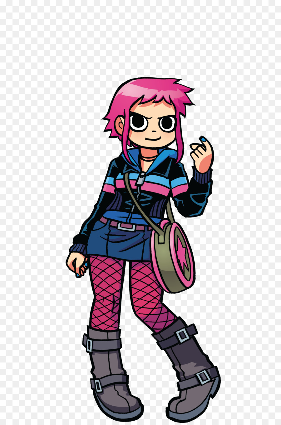 Ramona Flowers Comics Drawing Female Vector Flowers Png Download
