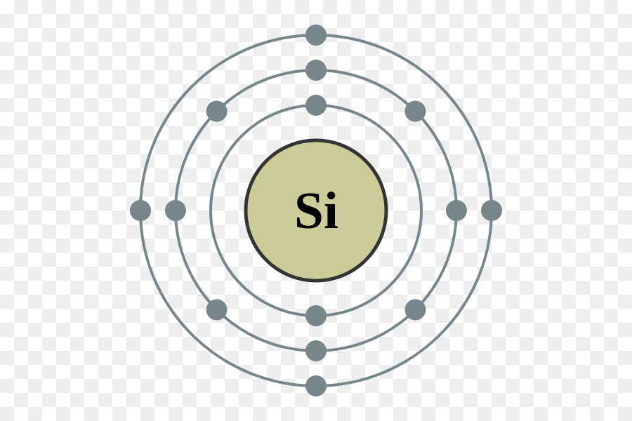 Silicon Atom Chemical Element Bohr Model Valence Electron
