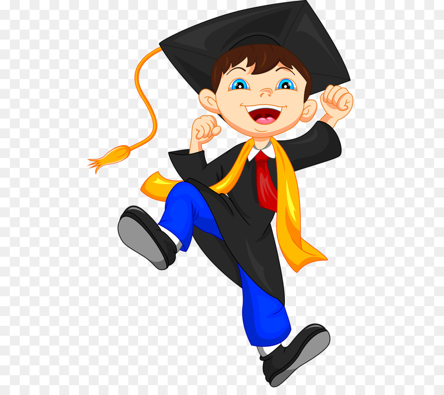 Graduation ceremony Pre-school Clip art - graduation gown png ...