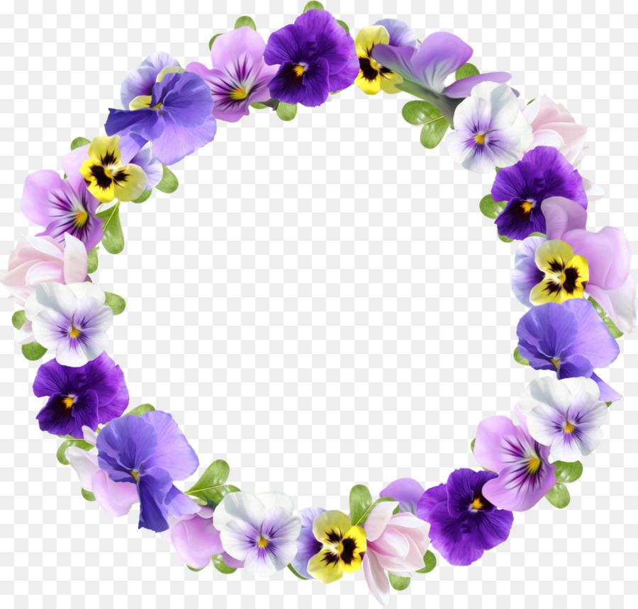 Flower Picture Frames Best Borders Clip Art Violet 1136