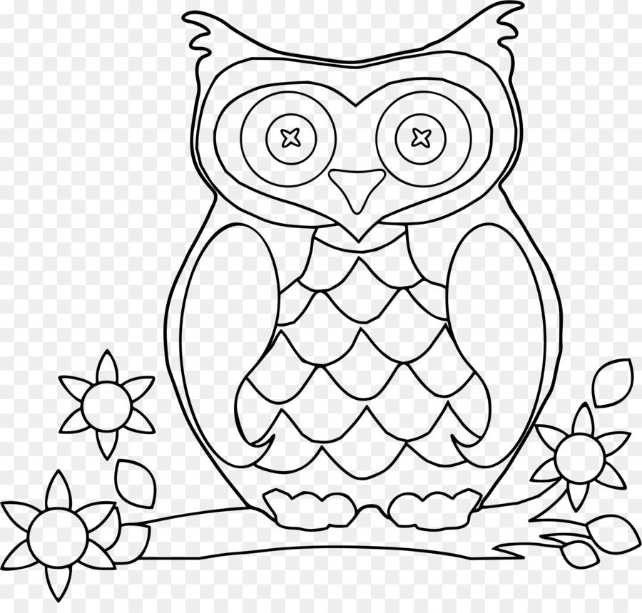 Buku Mewarnai Gayung Pines Anak Dewasa Pesan Unduh Burung Hantu