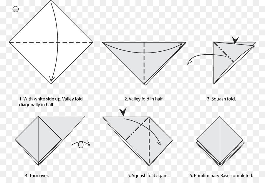 Paper Bases Classiques De Lorigami Square Craft Origami Png