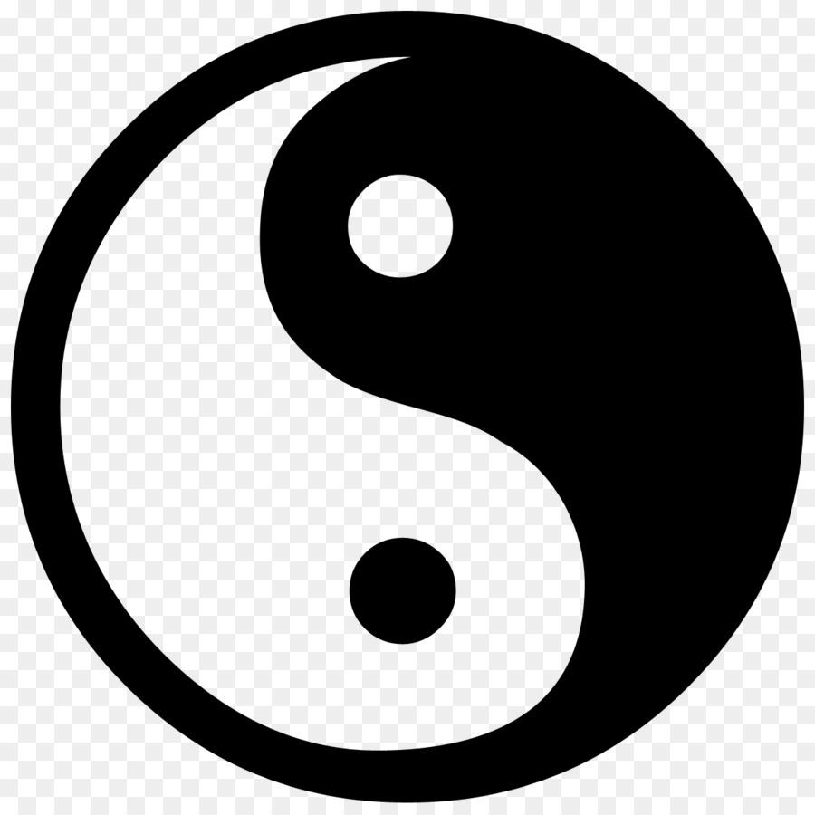 Yin And Yang Symbol Clip Art Ying Yang Png Download 900900