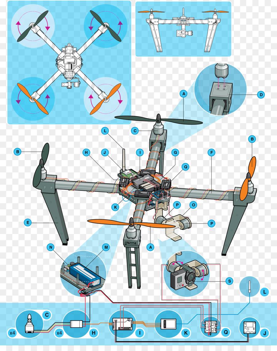 Vehículo aéreo no tripulado Mavic Pro Multirotor aeronaves de ala ...
