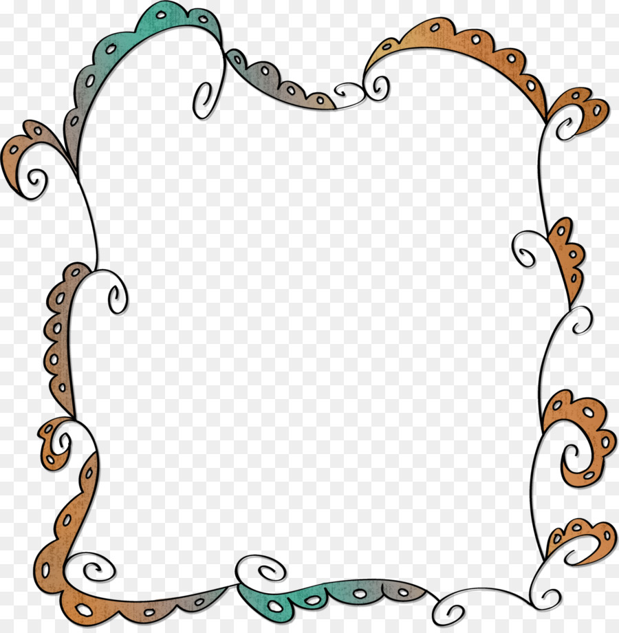 line art photoscape clip art boarders png download 1409 1431