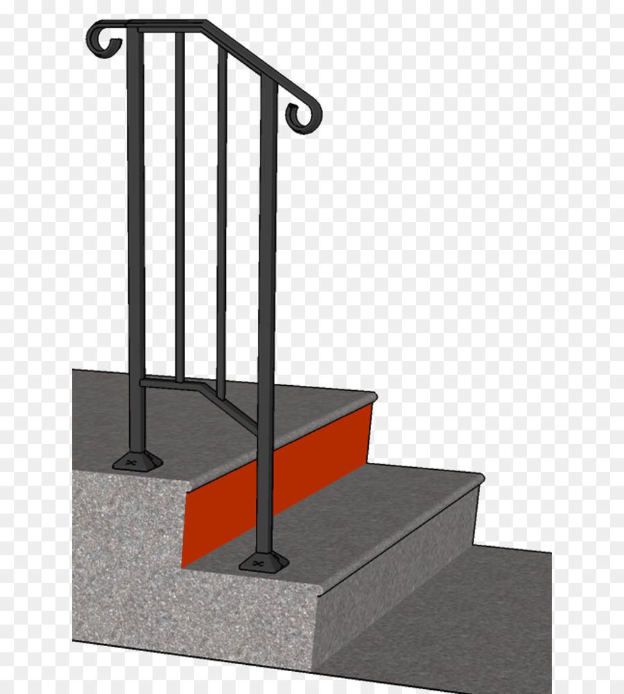 Handrail Stair Riser Stairs Steel Stair Tread   Stair