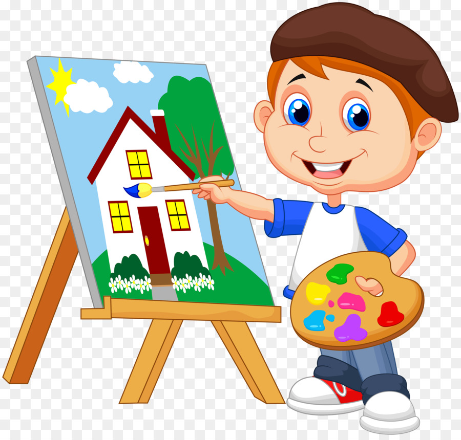 Painting Art Drawing - kids cartoon 5000*4742 transprent ...
