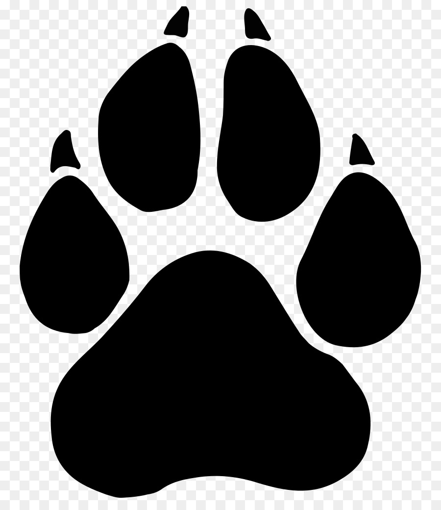 black panther paw dog clip art black panther png download 837 rh kisspng com