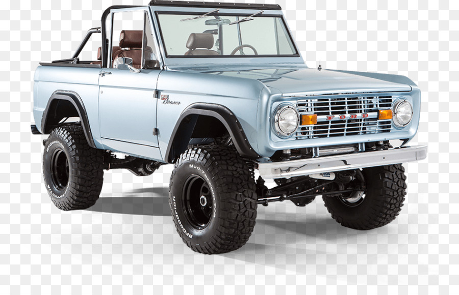 Ford Bronco Ford Motor Company Thames Trader Car - classic car png ...