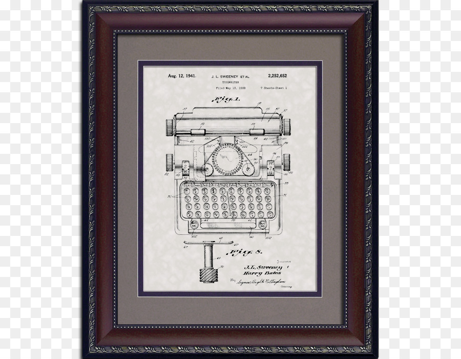 United States Patent And Trademark Office Drawing Toy Picture Frames