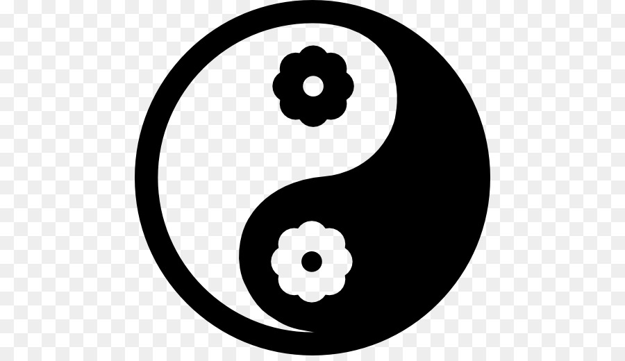 Yin And Yang Computer Icons Symbol Emoticon Yin Yang Png Download