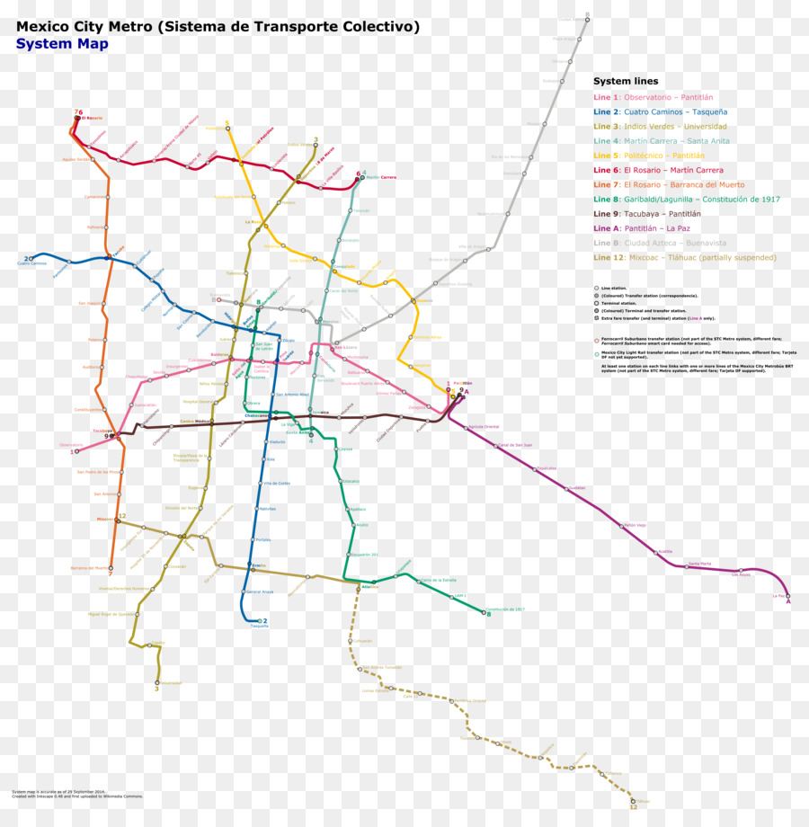 Los Angeles Subway Map New.New York City Png Download 4886 4962 Free Transparent Mexico