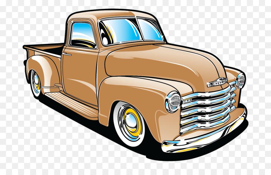 Pickup truck Chevrolet Bel Air Car Chevrolet Impala - old car png ...