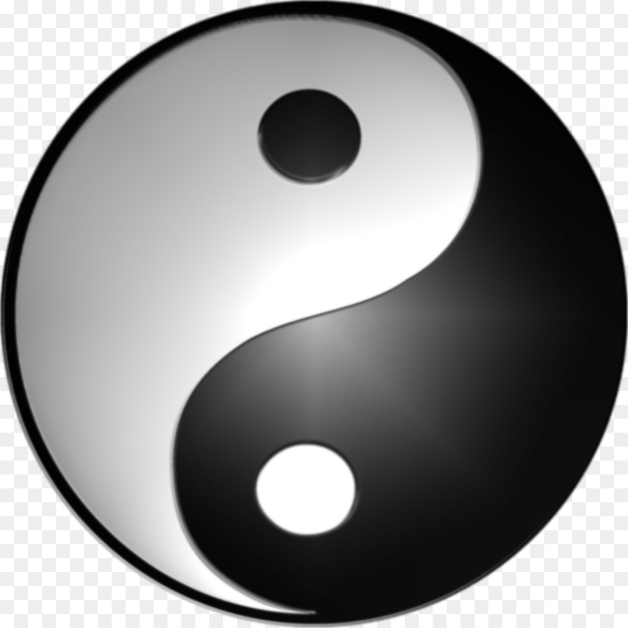 Yin And Yang Symbol 3d Computer Graphics Yin Yang Png Download