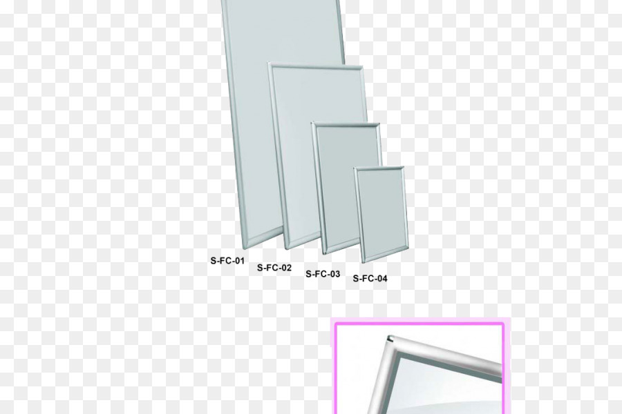 Picture Frames Standard Paper size Poster Window - silver frame png ...