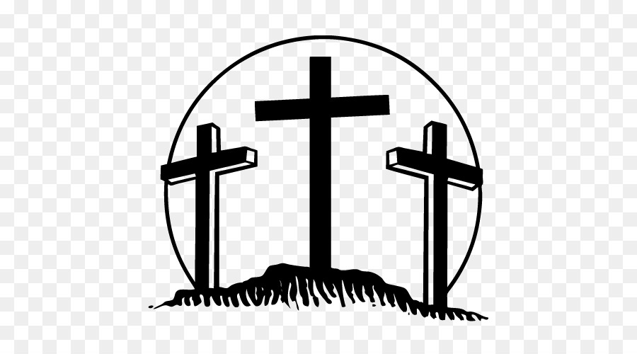 The Three Crosses Bumper Sticker Decal Car Crucifixion Png