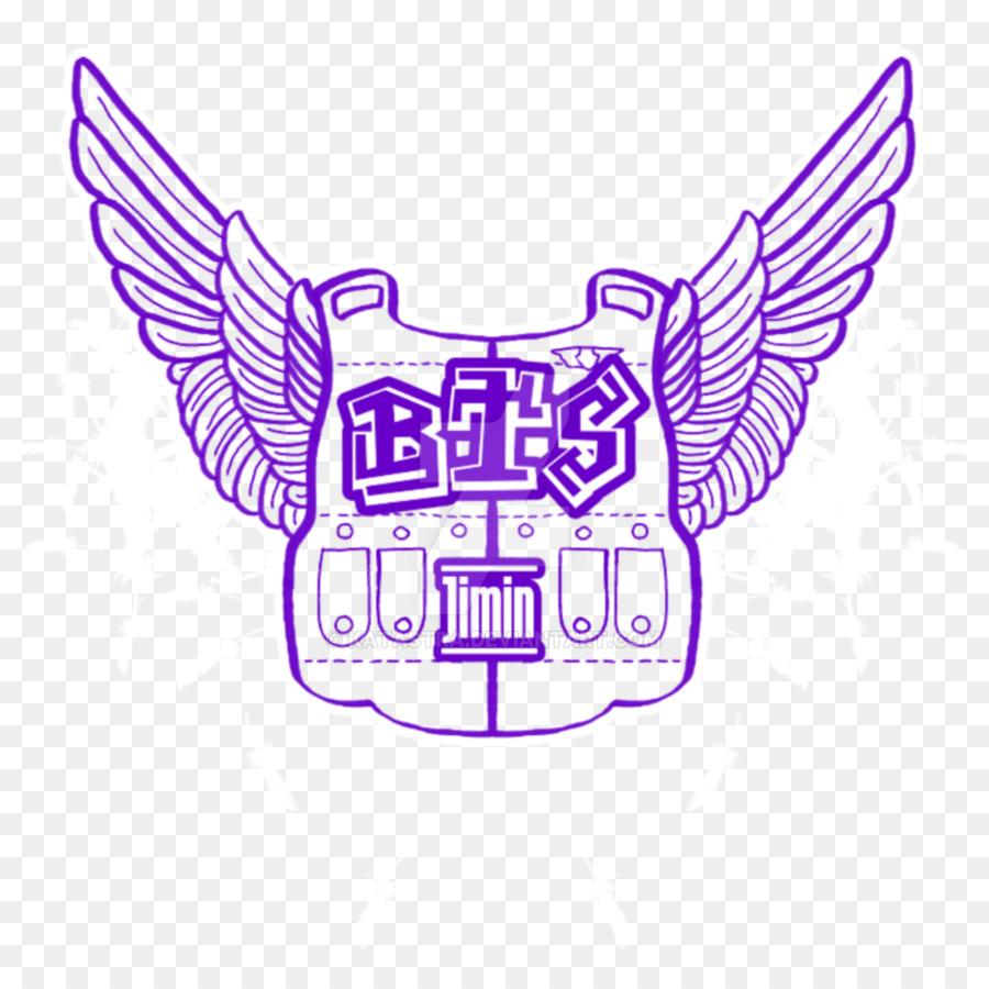 bts wings logo youtube k pop pop art png download 1024 1024