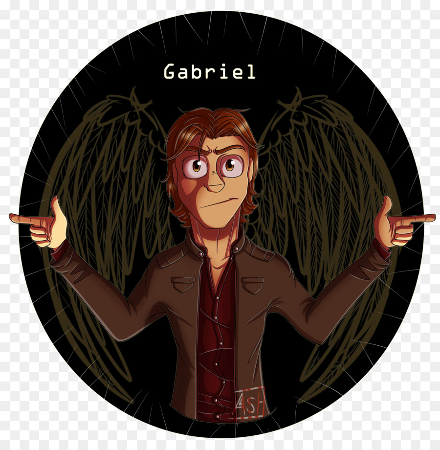 Lucifer Gabriel: Supernatural Castiel Archangel Gabriel Lucifer Fan Art