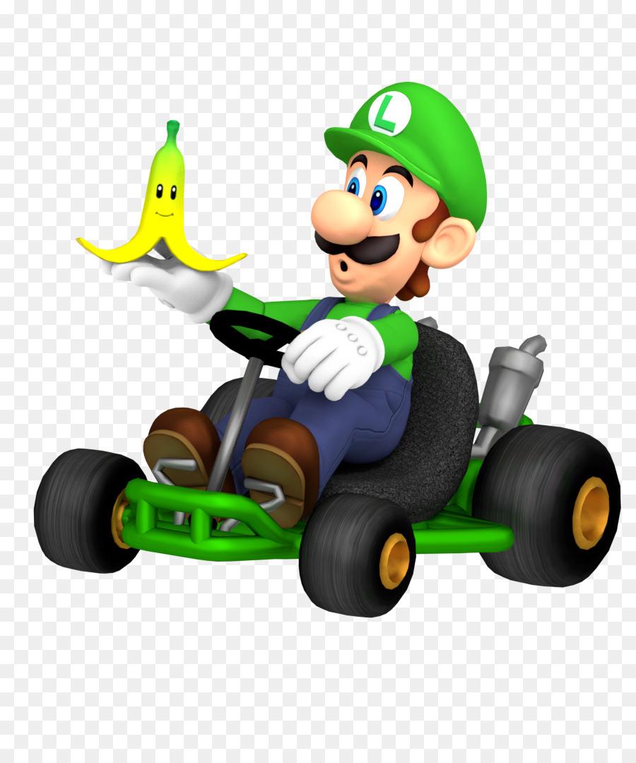 Mario Kart Wii DS 8 Luigi