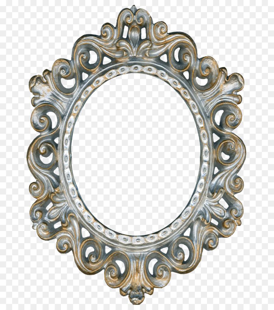 Wonderful Picture Frames Mirror Decorative arts Clip art - vintage gold png  ZJ45