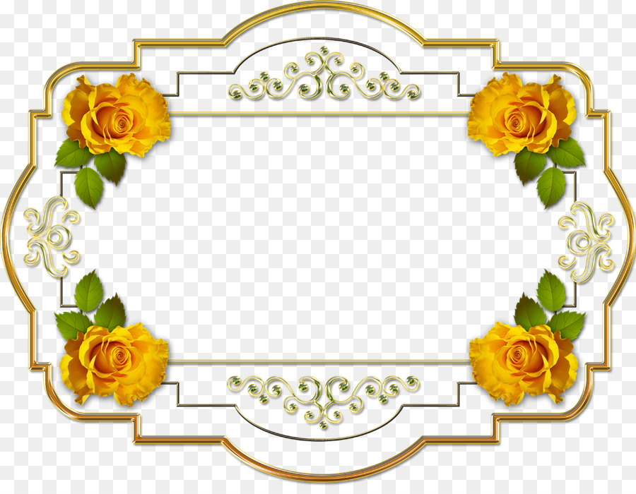 Picture Frames Yandex Search - yellow frame png download - 1200*918 ...