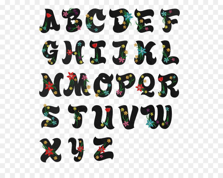 Lettering Alphabet Cursive Font