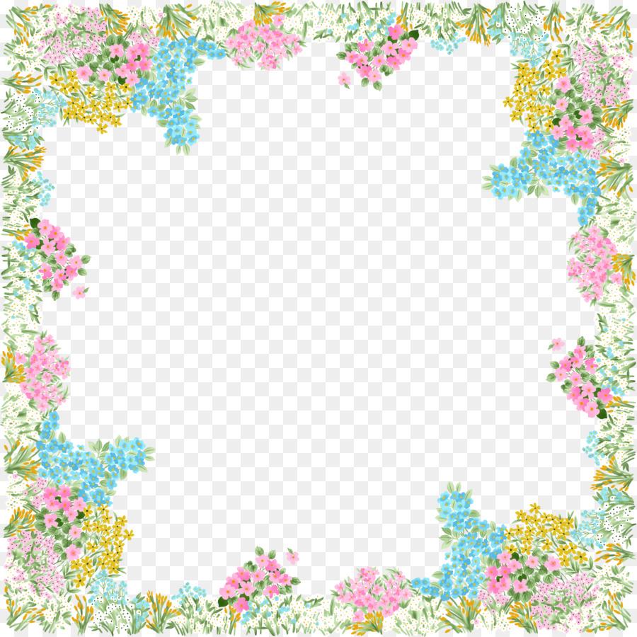 picture frames garden clip art spring border png download 4162 rh kisspng com spring flower border clipart spring border clip art free