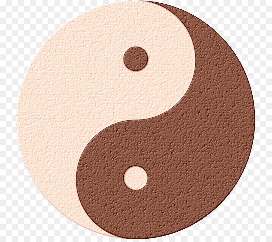 Gold Yin And Yang Complementary Colors Material