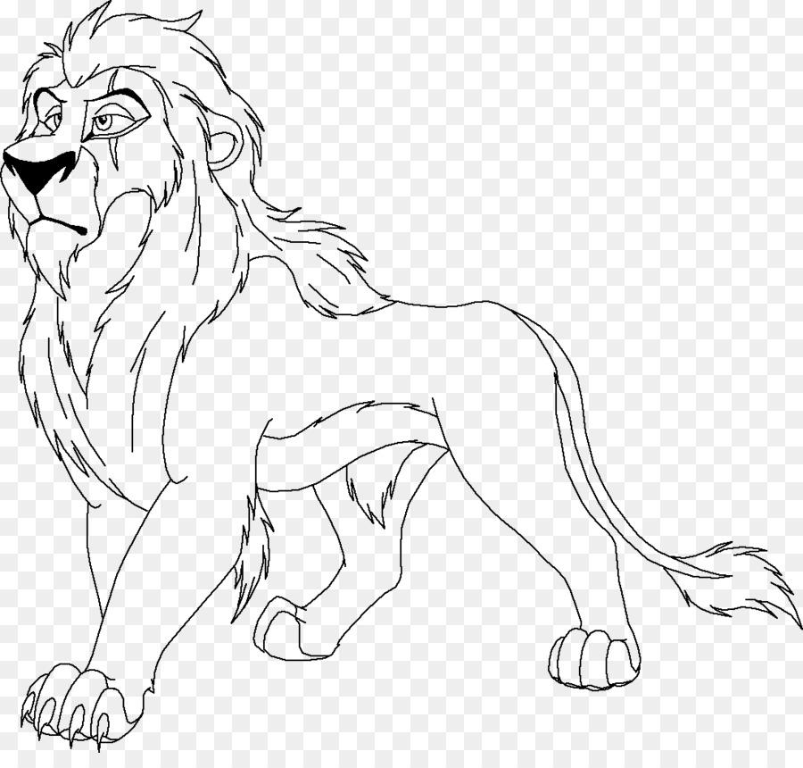 La Cicatriz Simba Mufasa León Nala - danza del león png dibujo ...