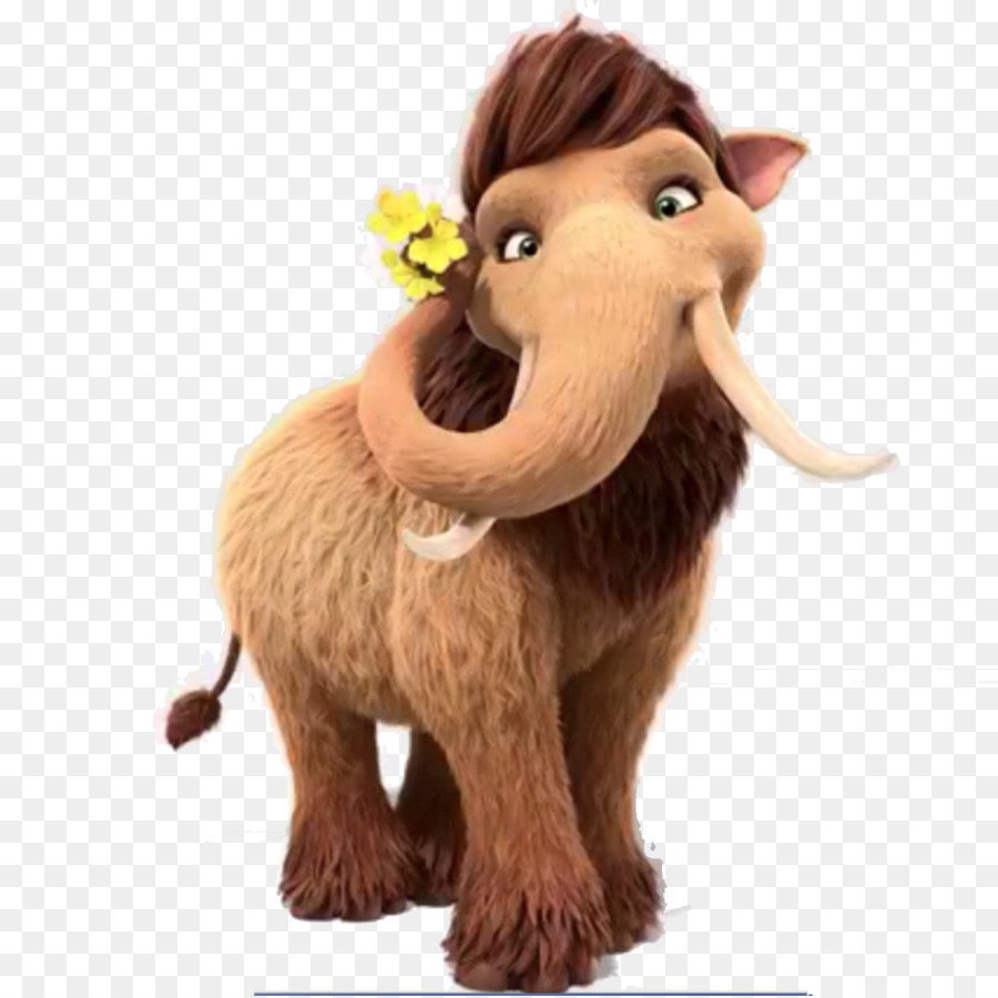 peaches ellie manfred scrat ice age - ice age png download - 1500