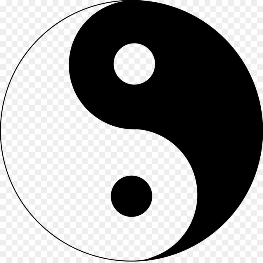 Yin And Yang Symbol Clip Art Ying Yang Png Download 1024 1018