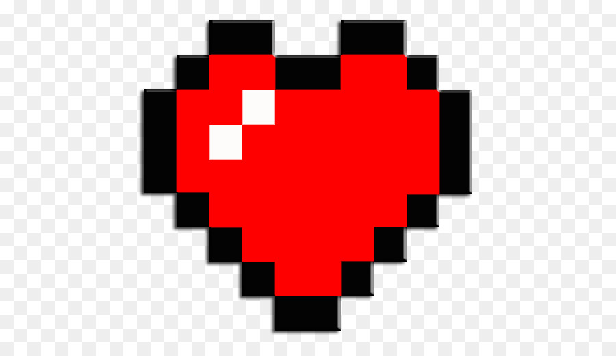 Minecraft Tutorial How to Build a 8Bit Heart