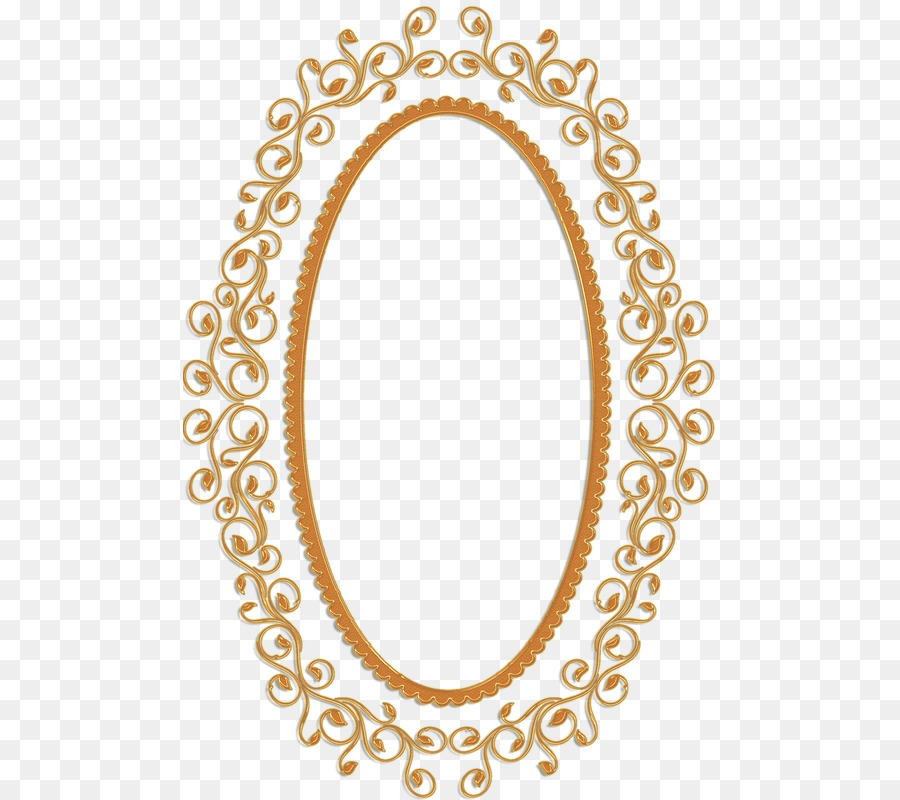 Picture Frames Mirror Gold Clip Art
