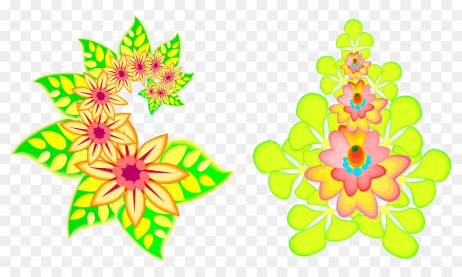 Flower Coreldraw Clip Art Bordas Png Download 1380 816 Free
