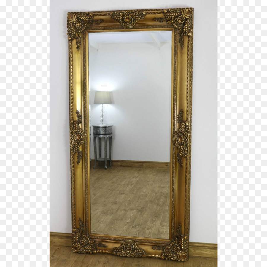 Mirror Picture Frames Gold Rectangle Beveled glass - vintage gold ...