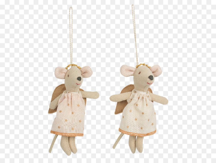 computer mouse angel infant baby transport christmas ornament