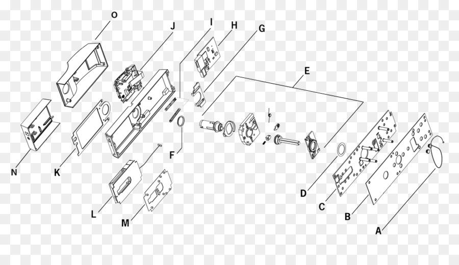 Wiring diagram Drawing Lock Circuit diagram - kaba png download ...
