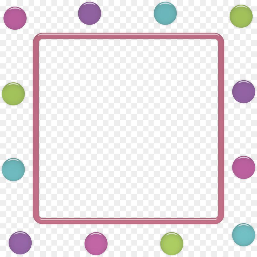 Picture Frames Photography Polka dot Violet - dots png download ...