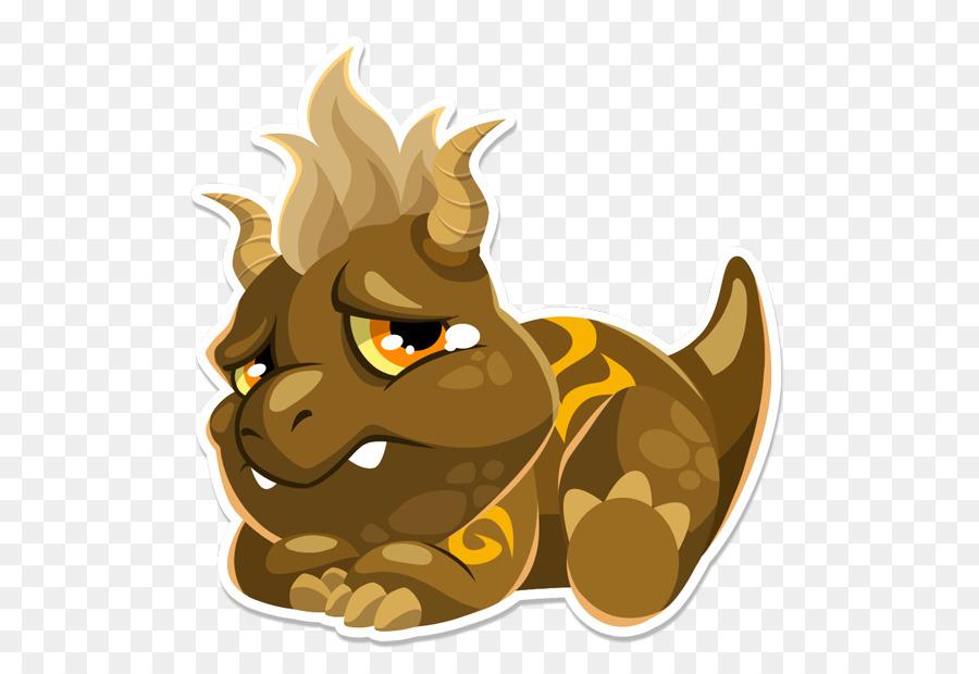 Dragon City Sticker Social Point Cat   Floating Island