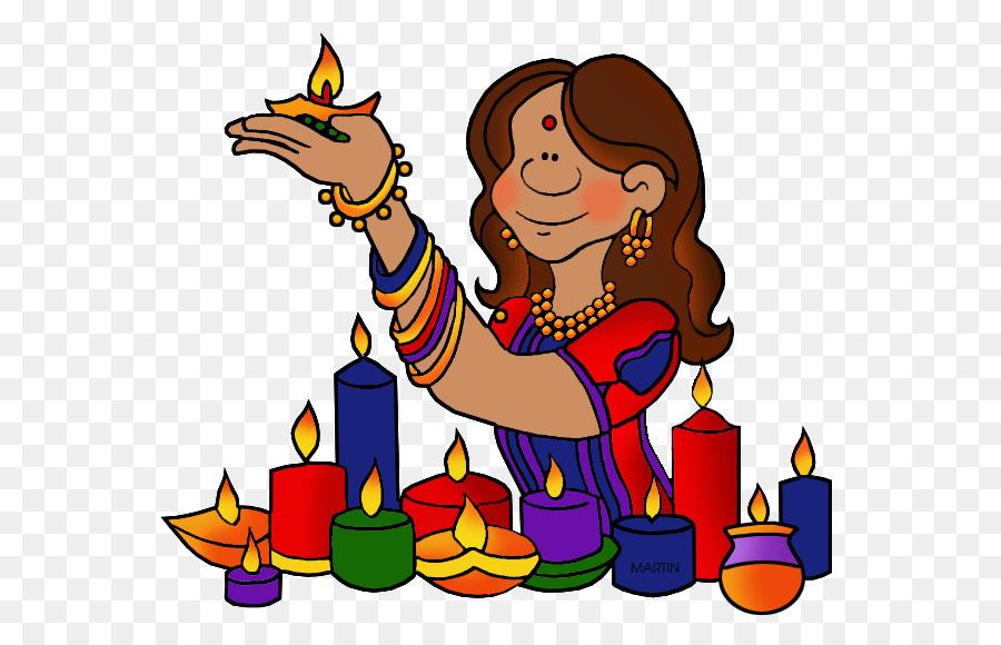 Diwali Diya Candle Clip art - Beautiful Decoration Happy ...