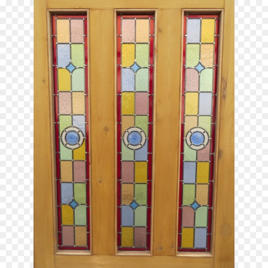 Window Stained Glass Sliding Glass Door Watercolor Stain Png