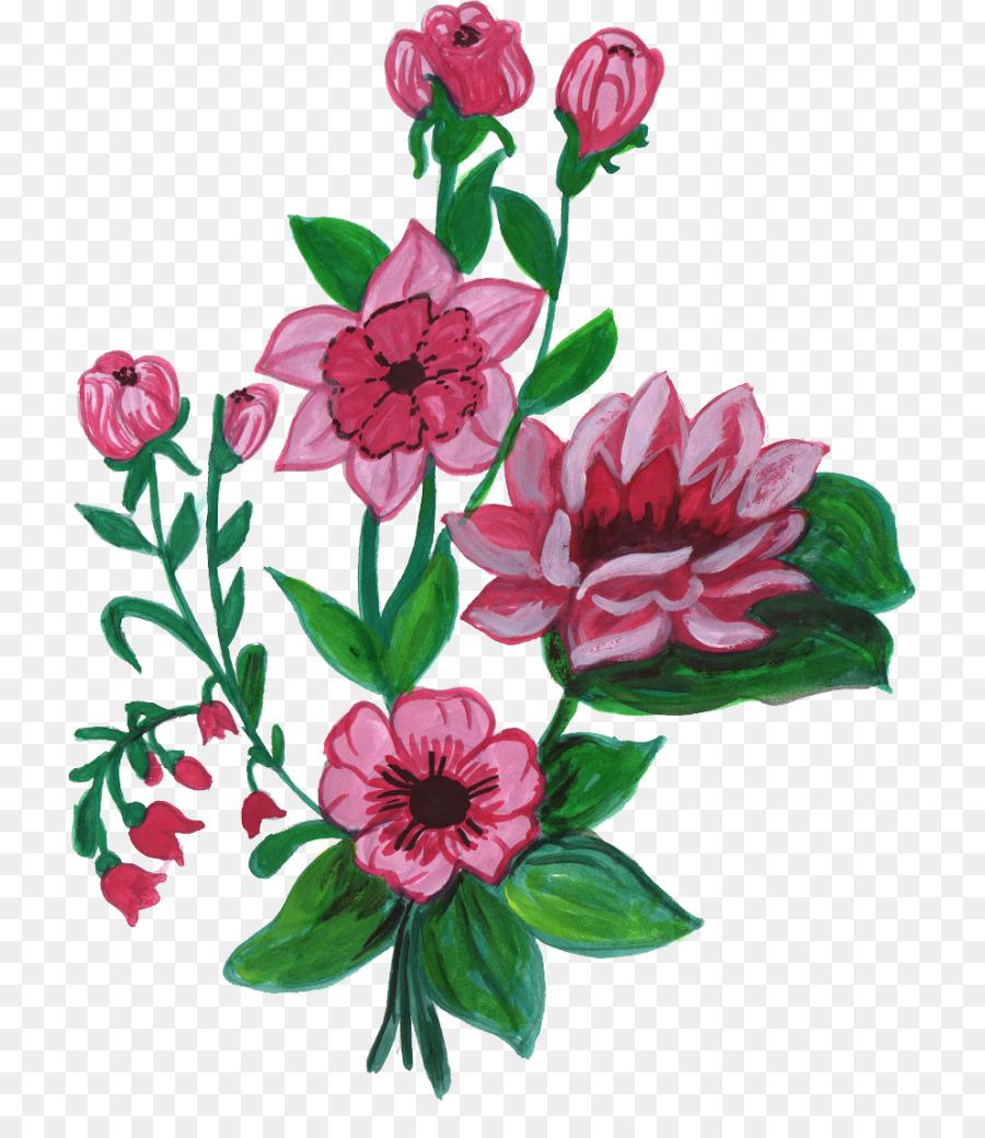 Орнамент букет цветов фото — img 6