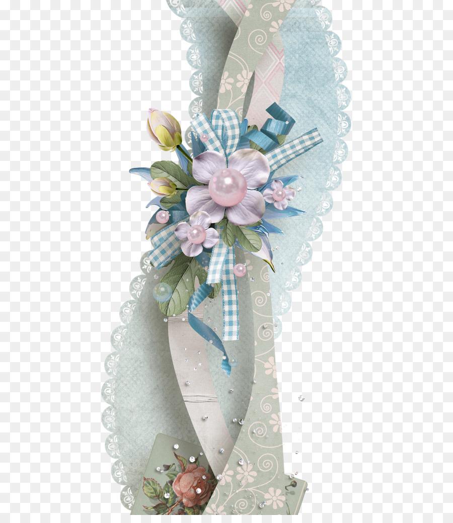 Cut Flowers Flower Bouquet Scrapbooking Floral Design Paper Ribbon