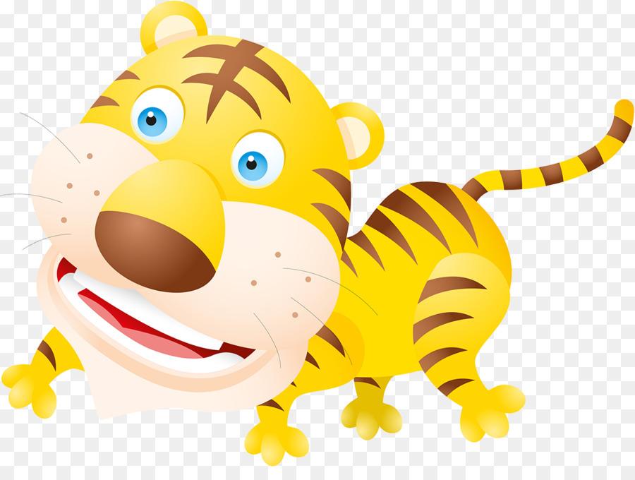 Tiger Cartoon Tiger Vector Png Download 1200 881 Free