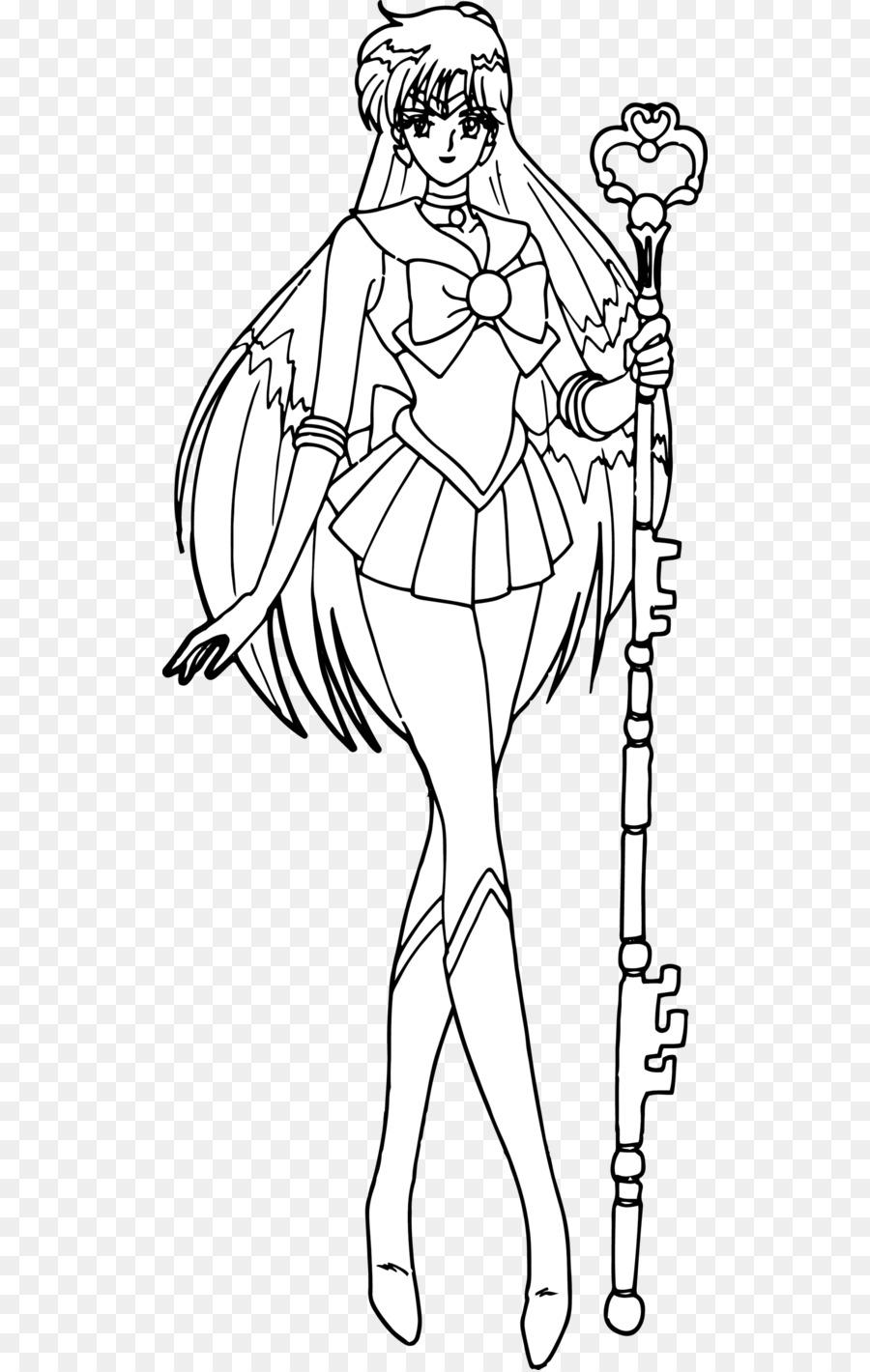 Sailor Pluto Sailor Saturno Sailor Moon Chibiusa Sailor Mercury ...