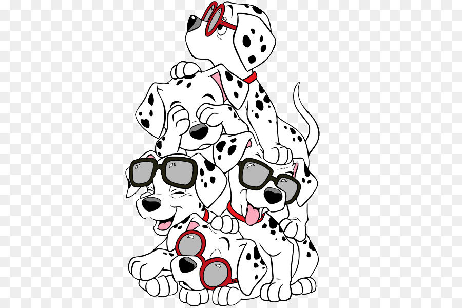 Dalmatian dog Cruella de Vil Puppy The 101 Dalmatians Musical Clip